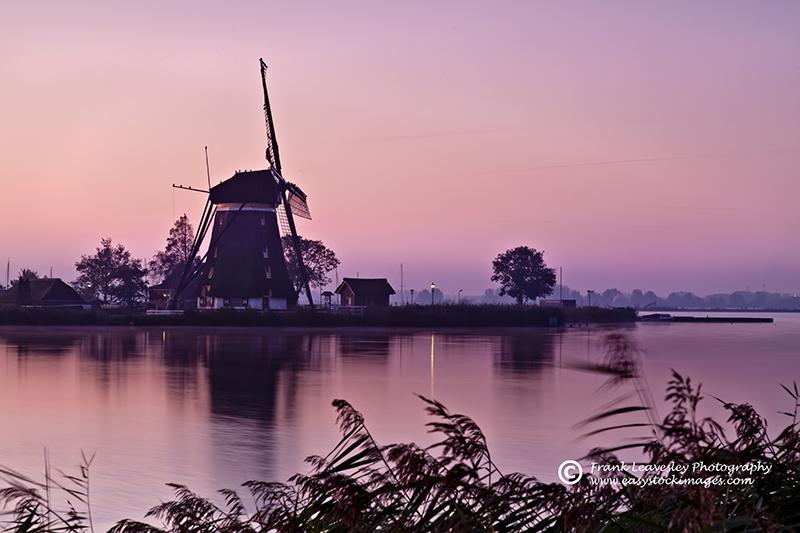 Dawn Windmill Rottedijk