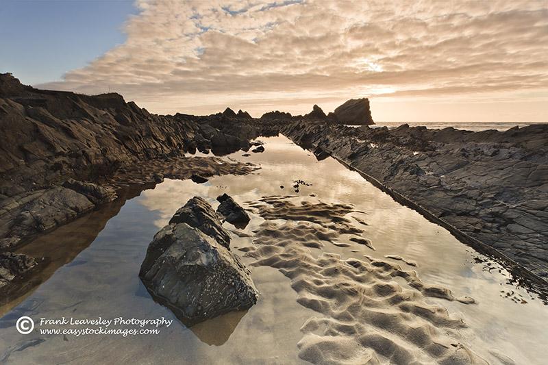 Hartland Quay Rock Pool