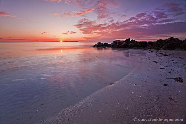 Sunrise Hengistbury Head