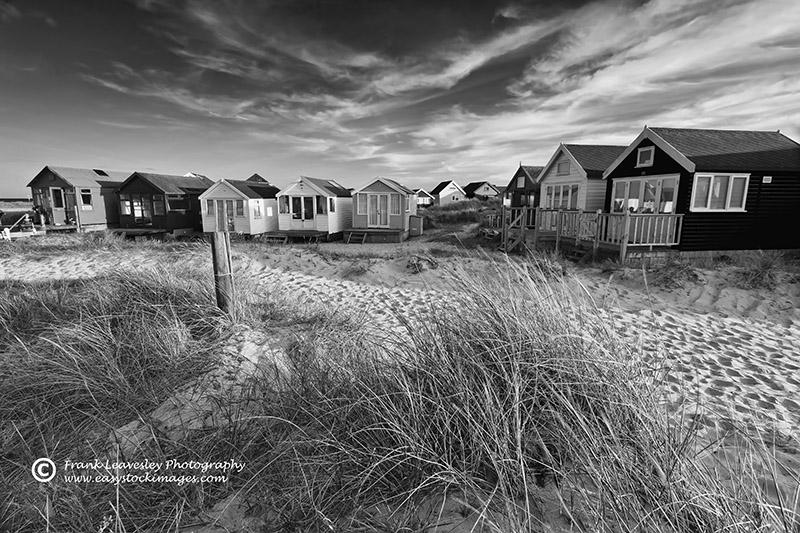 Huts On Hengistbury Head