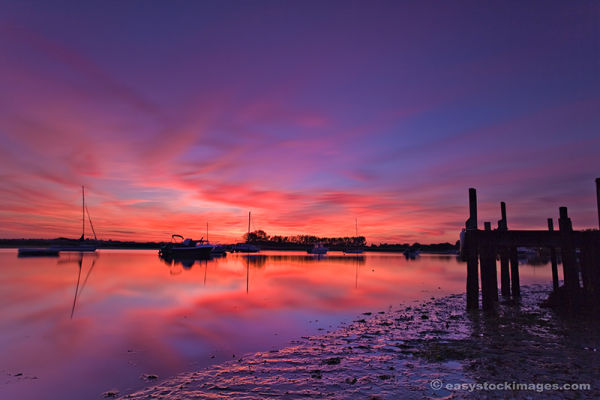 Mudeford Afterglow