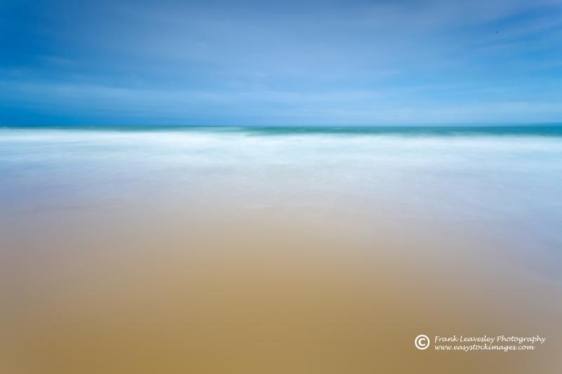 Sand Sea Sky Abstract