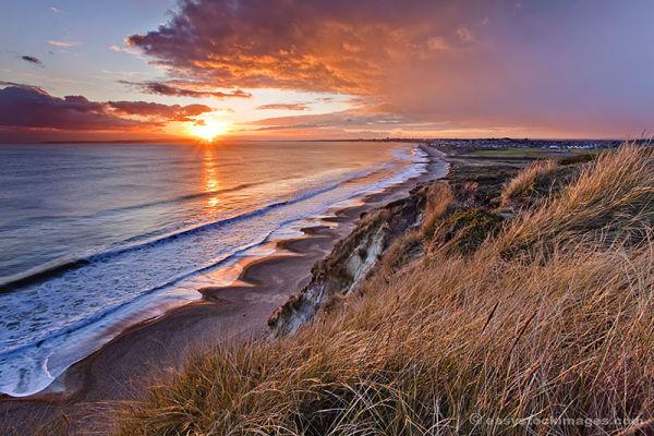 Sundown On Hengistbury Head