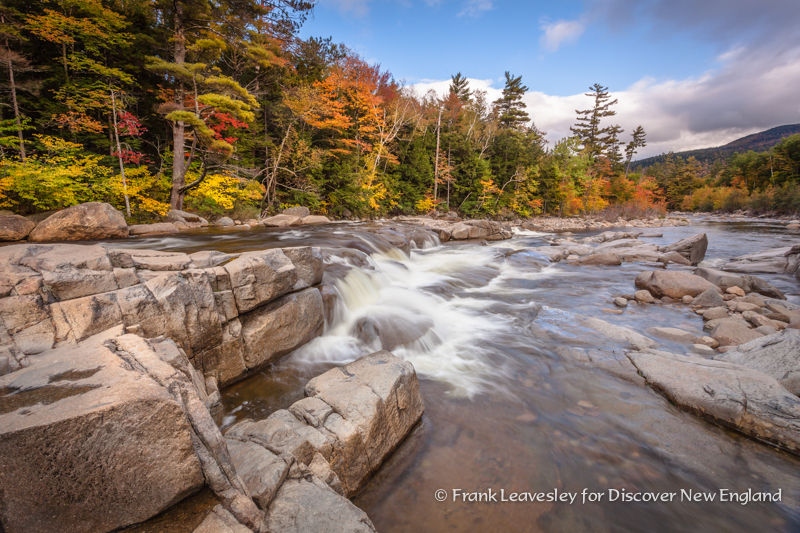 Waterfalls Kancamagus Scenic Byway