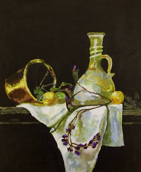 Still Life with Statice