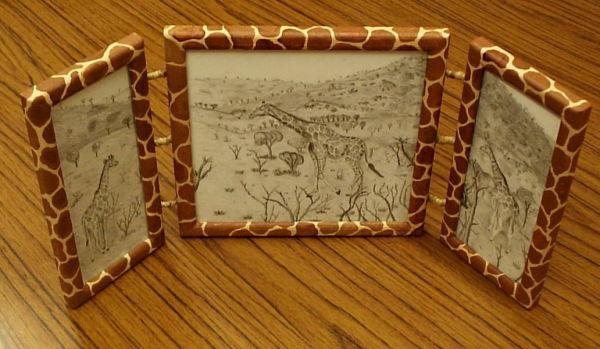 Giraffe Triptych