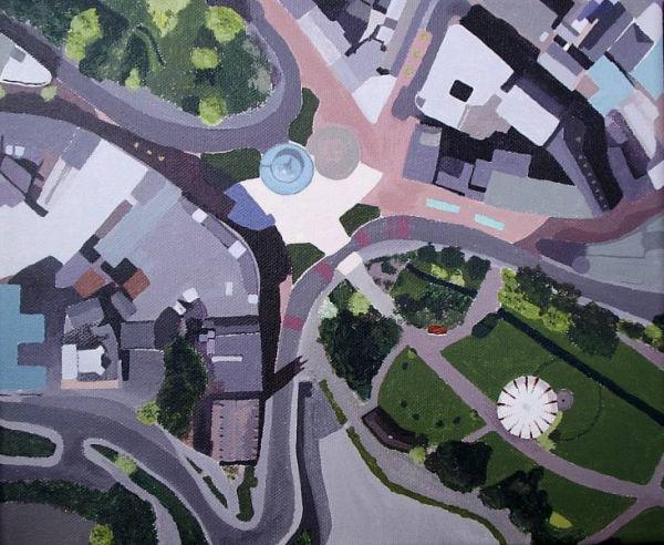 Aeriel View of Bournemouth Gardens