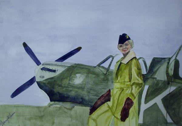 Louise Spitfire pilot