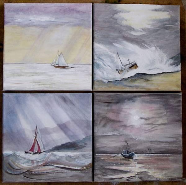 Four Marine Vistas