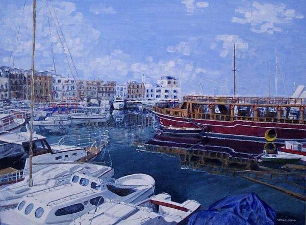 Kyrenia Harbour North Cyprus