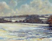 February Snow,Rolvenden