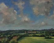 Spring view, towards Sandhurst