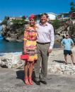 The King and Queen of Curacao and the Netherlands