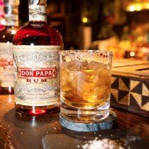 Don Papa rum cocktail