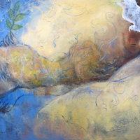 Death Oil on Canvas 130x100cms