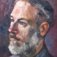 Portrait Sitter Oil on Canvas 40x60cms