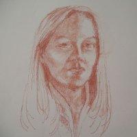 portrait red chalk 2