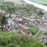 La Roche Guyon from the Castle Keep