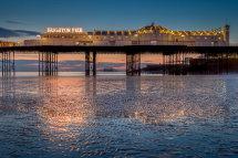 Brighton Pier Reflections