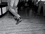 Northern Soul Night in black and white