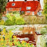 Cottage Pond Reflextion