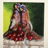 Pheasants and Red Onions