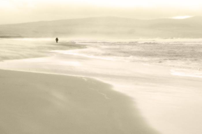 Pale beach