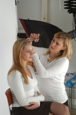 Portrait Photography at The Ditchling Studio, nr Lewes, Sussex
