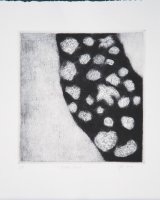 Border April 2016, drypoint, 21.5 x 20 cms, 2016, edition of 5