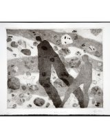 Stony Beach, etching, 29 x 24 cms, edition of 15, 1999