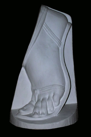 A060a Piede con sandalo
