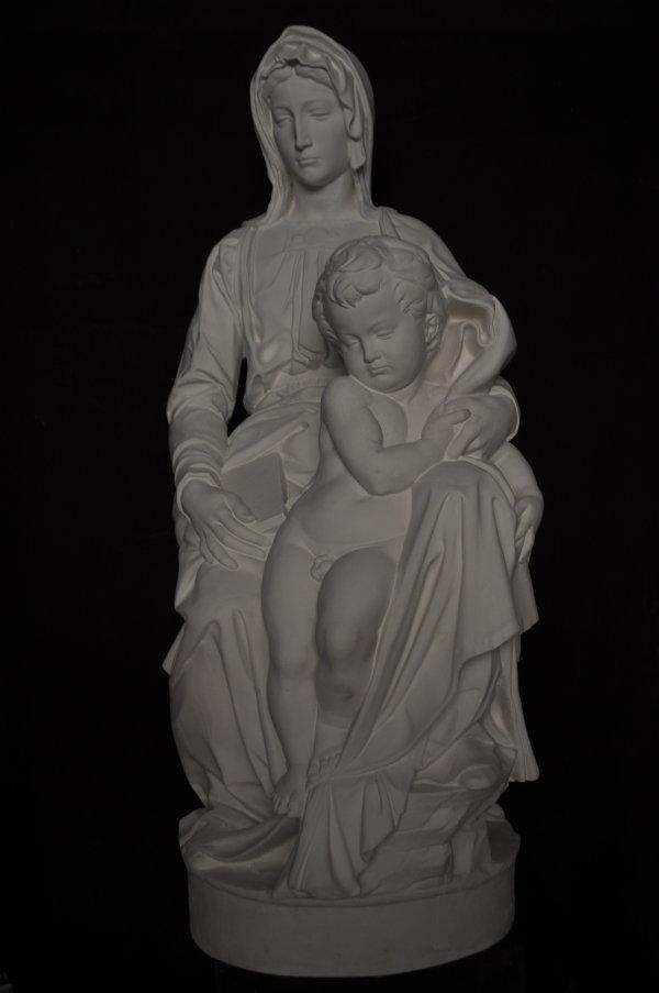 S244 MADONNA DI BRUGES Michelangelo