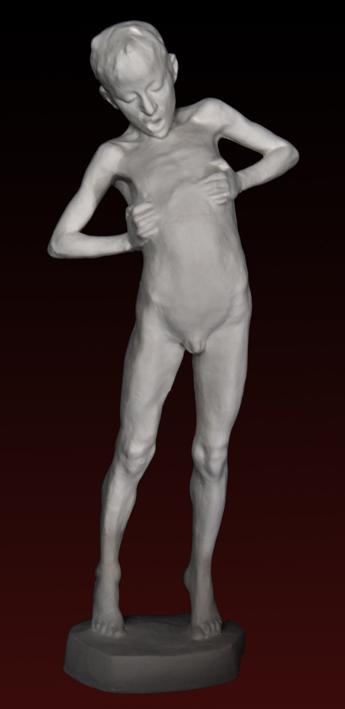 S043    Ragazzo nudo