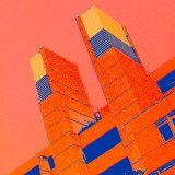 Building In Blocks - Orange
