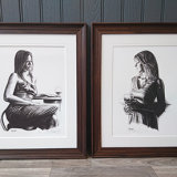 Pair of Limited Edition Mark Braithwaite Prints