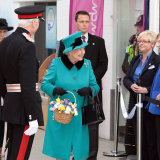Queen's visit to Sheffield 2015