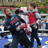 Kell Brook Public Workout