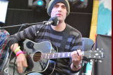 Busted's Charlie Simpson in the live lounge