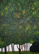 Trees after Klimt