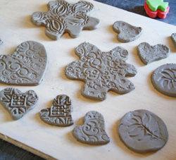 Creative ceramic button making