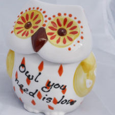Owl You Need is Love - Cookie Jar