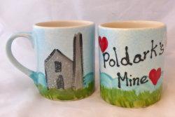 Poldarks Mine - Mug