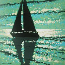 Serene sailing - SOLD
