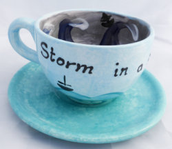 storm in a big tea cup