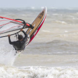 Windsurfer Leaping