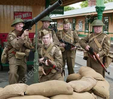 Southern at War Weekend on the Bluebell Railway