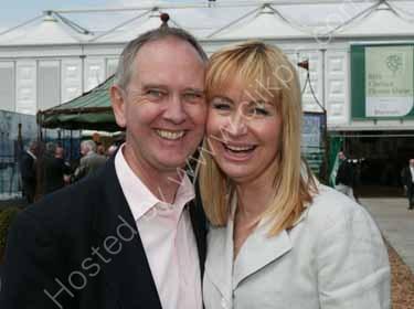 Sian Lloyd with husband Jonathan Ashman