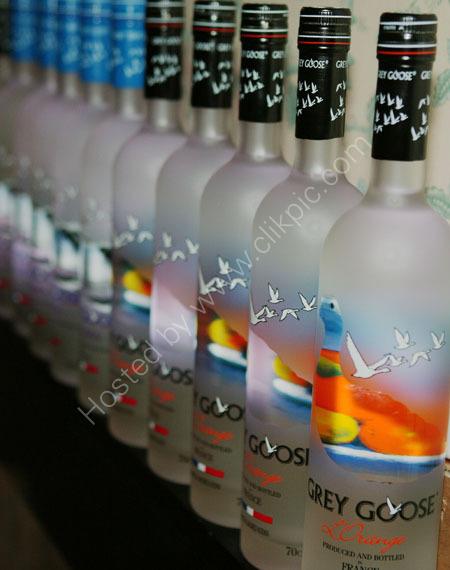 Grey Goose Vodka promotion