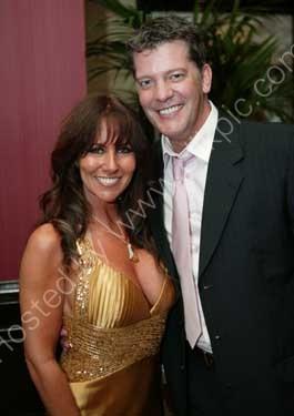 Linda Lusardi with husband Sam Kane