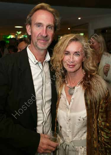 Mike Rutherford  from Genisis with wife